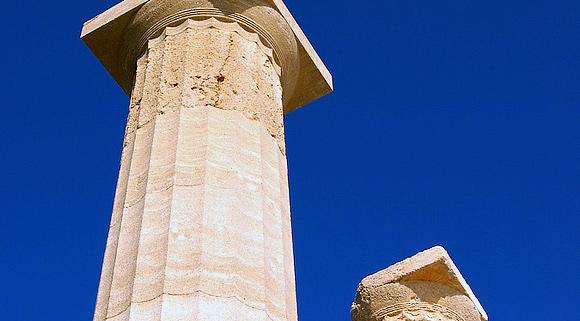 Archeological sites on Rhodes