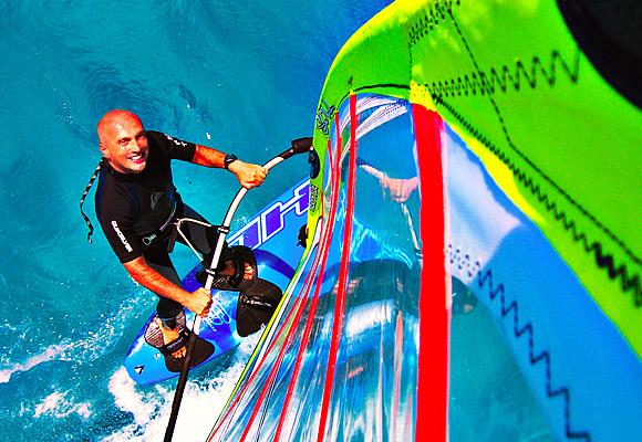 Windsurfing at Ixia