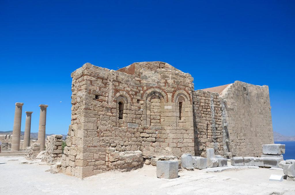 Chiesa Byzantina a Lindos