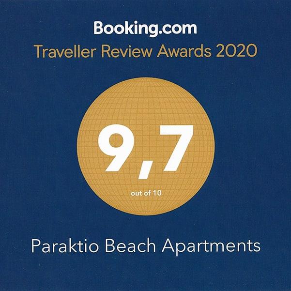 booking.com Awward