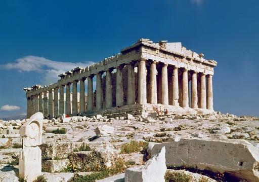 The Parthenon of Athens