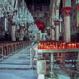 Interior of Evangelismos Church