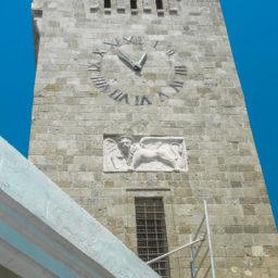 The Clock Tower of Evangelismos Church