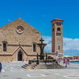 Church of Evangelismos, Rhodos
