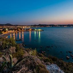 Rhodos Faliraki beach