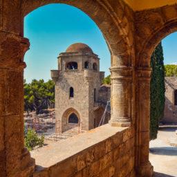 Filerimos Monastery Buildings