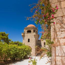 The Monastery of Filerimos view