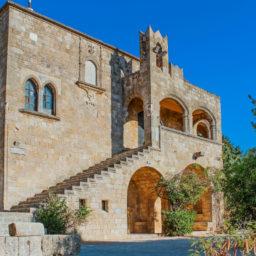The Archbishop building, Filerimos