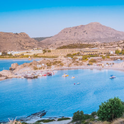 Kolymbia view, Rhodos