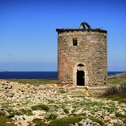 Rhodos Lindos windmill
