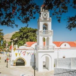 The Monastery of Panagià Tsambika, Rhodos